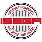 ISEGA: Certificate of Conformity as an adhesive in food technology.